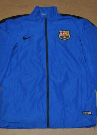 Nike fc barcelona найк фк барселона оригинал куртка ветровка м...