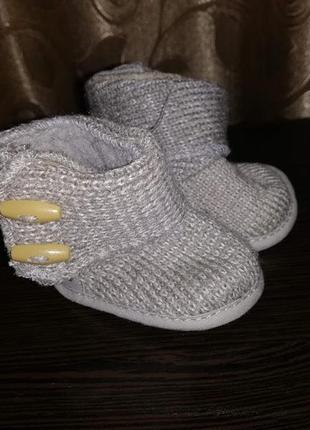 💖💖💖новые пинетки, вязаные угги для новорожденных f&f💖💖💖