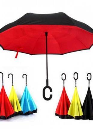 Ветрозащитний зонт - наоборот
