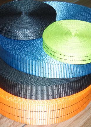 Стропа лента текстильная, буксирорвочная, страховочная, крепёжная