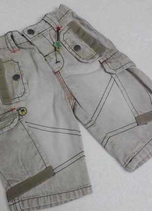 Mama & papas. хлопковые штаны до 62 см. 0-3 месяца.