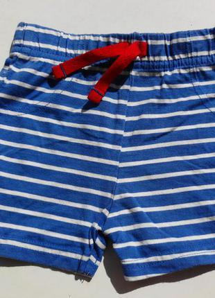 George. шорты трикотажные 0-3 месяцев. 56-62 размер.