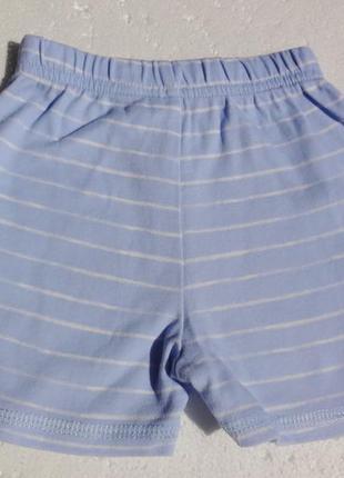 George. шорты трикотажные 3-6 месяцев. 62-68 размер.