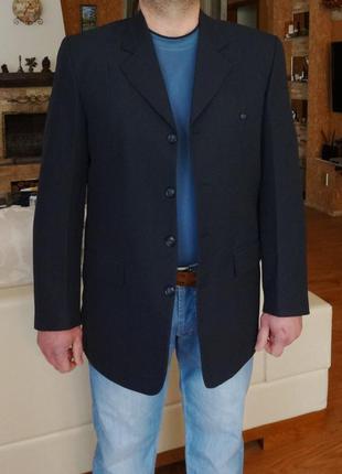 Пиджак мужской синий. besonder. германия. 50 размер.