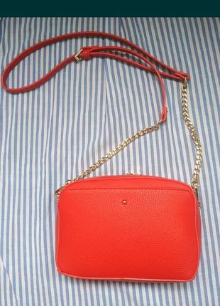 Сумка, сумочка красная
