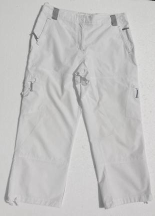 Human nature укороченные белые брюки