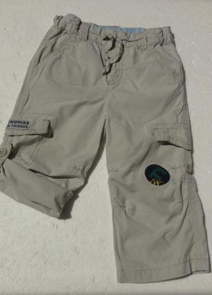 Marks&spencer. летние штаны капри мальчику