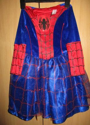 Карнавальное платье человек паук
