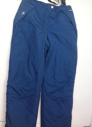 Итальянские лыжные штаны с подтяжками.