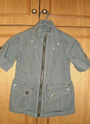 Пиджачок для девочки next
