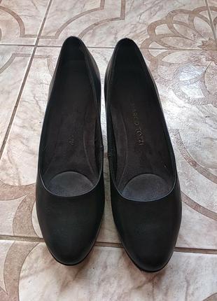 Натуральні шкіряні італійській туфлі