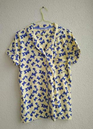 Пижама, верх пижамы, домашняя кофта от бренда tu