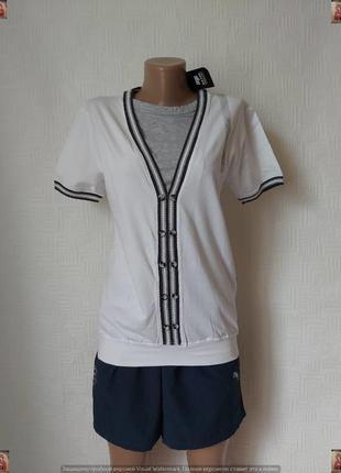 Новая белоснежная  с биркой нарядная мужская футболка на 93 % ...