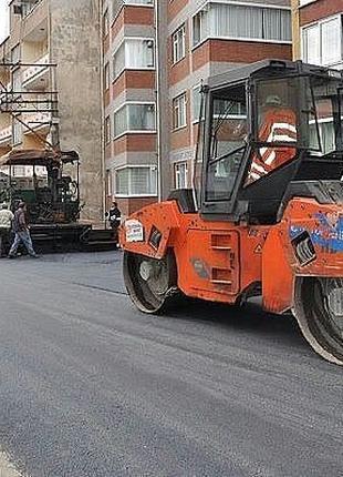 Асфальтирование и строительство дорог Ровно. Асфальтування Рівне.
