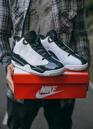 "Nike air jordan dub zero ""concord"" мужские кроссовки найк белы..."