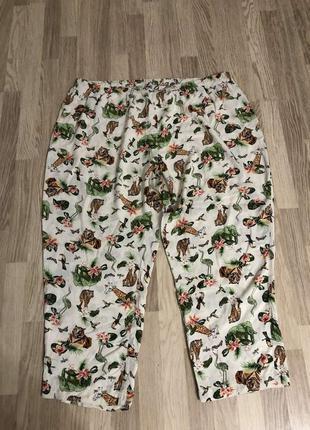 Пижамные штаны asos большой размер!