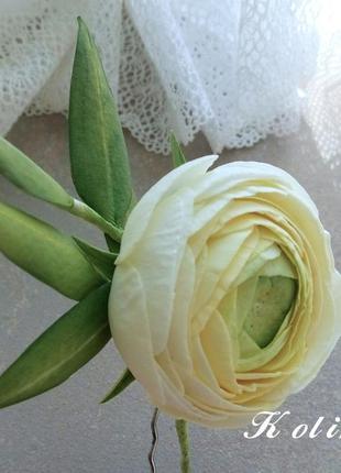 Шпилька для волос свадебные аксессуары украшение ручной работы...