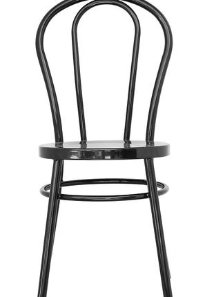 Металлический стул ТОНЕТ, черный, стул в стиле лофт