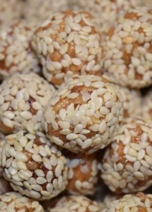 Арахис в кунжуте, арахис в сахаре