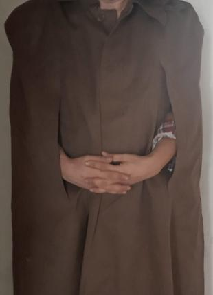 Плащ-палатка офицерская с капюшоном