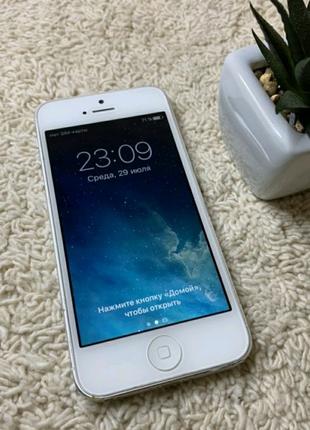 IPhone 5 16 gb White Neverlock