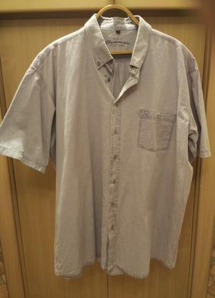 Рубашка мужская, размер 52-54