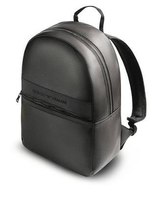 Черный Рюкзак Giorgio Armani / кожзам