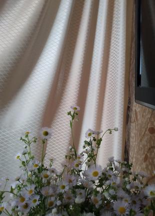 Акция! Ткань для штор и портьер Ромбик. Тюль,шторы. Пошив