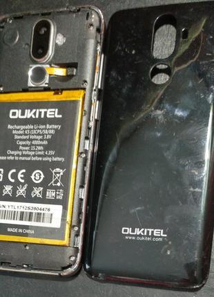 Oukitel K5 разборка