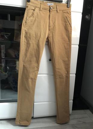 Гірчичні брюки з високою посадкою від next. акція!!!! 1+1= 3️⃣ 🎁🎉