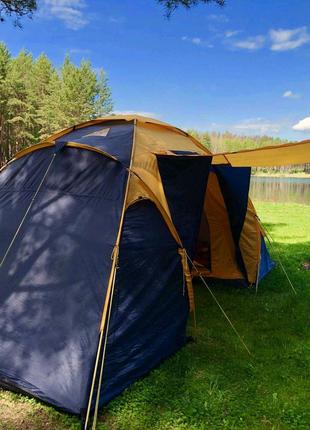 4х(6)местная палатка с тентом