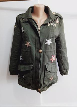 Куртка в стиле милитари in vogue