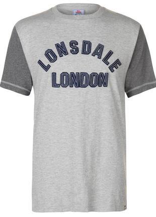 Lonsdale мужская футболка в наличии англия оригинал