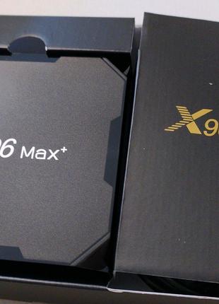 ТВ приставка, НАЛАШТОВАНА, Android, TV box, H96 Max X3, X96 Max+