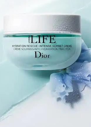 Dior hydra life sorbet creme крем-сорбет для лица увлажняющий