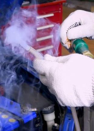 Дымогенератор проверка подсосов воздуха диагностика систем впуска