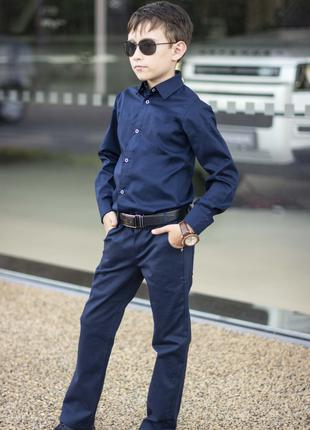 Школьные брюки на мальчика разные цвета