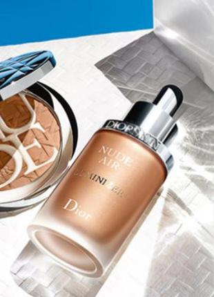 ⭐sale⭐dior nude air luminizer serum сыворотка-люминайзер для лица