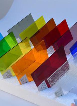"""Продам прозрачное цветное стекло завода """"Star Glass"""""""