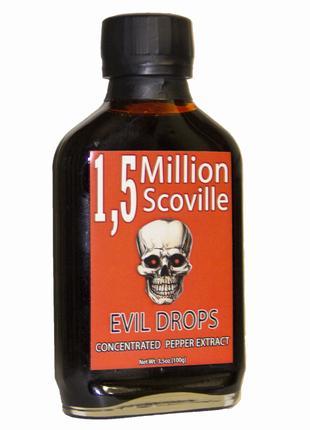"""Острый соус """"Evil Drops"""" 1 500 000 SHU"""