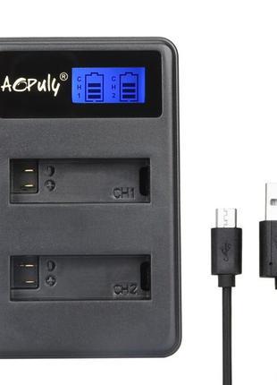 Аккумулятор и USB зарядка для камер SJ4000, SJ5000, EkenH9, SO...