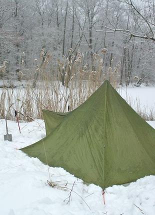 Палатка Silvretta в форме пирамиды, типи, на 4 человека, tipi