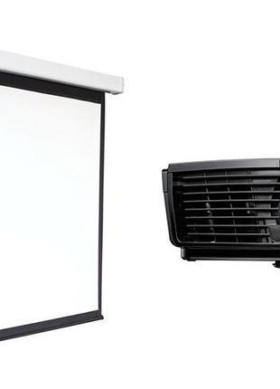 Аренда проектора и экранного полотна. Проектор на праздник