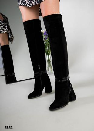 Женские сапоги ботфорты