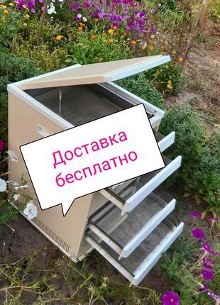 Металлический сушильный шкаф, 5 поддонов.