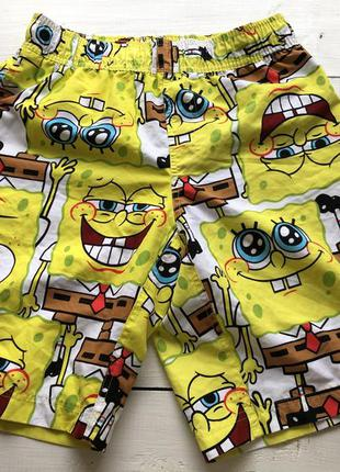 Мужские шорты со спанч боб