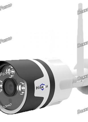 Wi-Fi IP камера Hiseeu разрешение 720P. Наружная камера Hiseeu.
