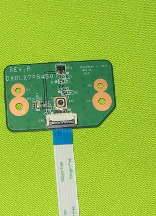 Кнопка включения HP Pavilion DV7-4000 35LX7PB0000 DA0LX7PB4B0