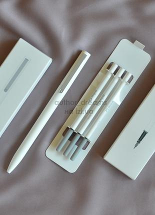 ХИТ! Гелевая ручка Xiaomi Mi Rollerball Pen MJZXB01XM + 3 стержня