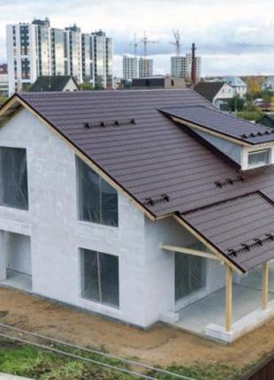 Построим дом из газобетонна